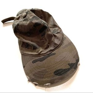 Express olive green army hat